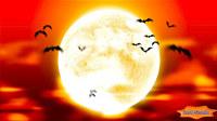 Full Moon Bats HD ScreenSaver