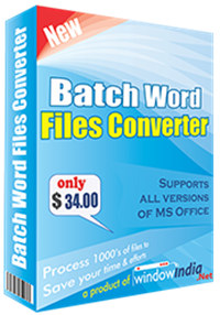 Batch Word File Converter