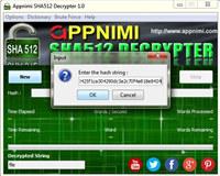 Appnimi SHA512 Decrypter