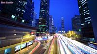 Urban Road Rush Hour Flow ScreenSaver