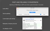 MIDI to MP3 converter for Mac screenshot medium