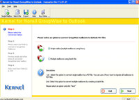 GroupWise to Outlook PST