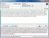 Paranoia Text Encryption for PC