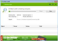 Dr.Web CureIt screenshot medium