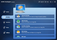 AOMEI Backupper Standard Edition screenshot medium