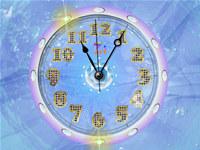 Diamond Clock Crystal Live Wallpaper