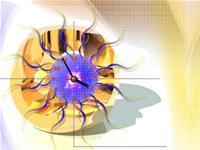 Digital Art Clock Live Wallpaper