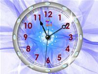 Crystal Clock Live Wallpaper