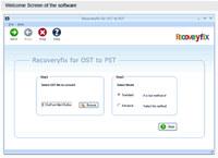 Convert OST File screenshot medium