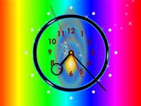 Rainbow Clock ScreenSaver