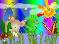 Mouse Clock ScreenSaver