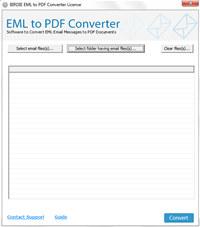 Convert Windows Live Mail to PDF screenshot medium
