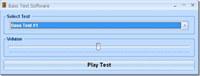 Bass Test Software