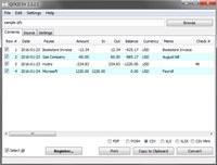 QFX2CSV screenshot medium