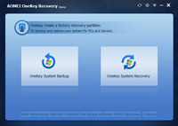 AOMEI OneKey Recovery screenshot medium