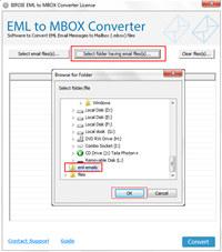 EML to MBOX Converter screenshot medium