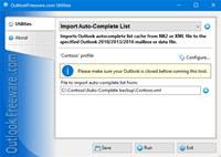 Import Auto-Complete List for Outlook screenshot medium