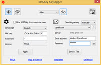 KISSKey Keylogger screenshot medium