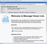 MessageViewer Lite email viewer