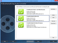 PCBrotherSoft Free Audio Converter