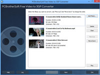 PCBrotherSoft Video to 3GP Converter