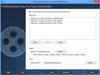 PCBrotherSoft Free YouTube Downloader