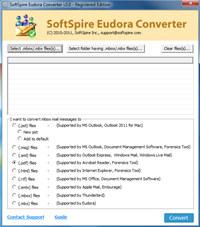 Software4Help Eudora Mail Converter screenshot medium