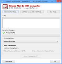 Software4help Zimbra Mail to PDF screenshot medium