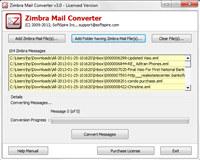 Zimbra Emails to Outlook screenshot medium
