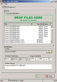 Foto Video File Sorter