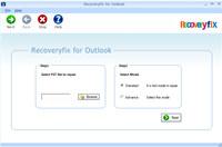 Outlook PST Files Recovery screenshot medium