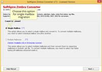 Import Zimbra to Outlook  screenshot medium
