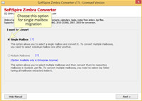 Zimbra to PST Export screenshot medium