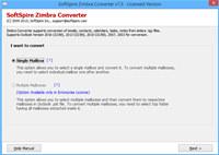 Import Zimbra TGZ into Outlook screenshot medium