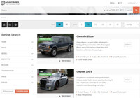 uAutoDealers car dealerships and classified script screenshot medium
