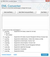 EML Converter For RTF Format screenshot medium