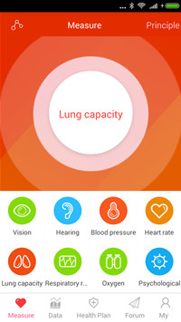iCare Lung Capacity screenshot medium