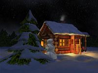 Nival Winter 3D Screensaver screenshot medium