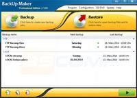 BackUp Maker screenshot medium