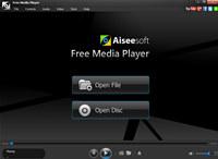 Aiseesoft Free media Player screenshot medium