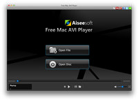 Aiseesoft Free AVI Player for Mac