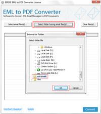 Windows Live Mail Import to PDF screenshot medium
