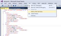 XMLFox Visual Studio XML Editor screenshot medium