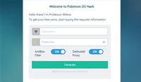 Pokemon GO Cheats Tool