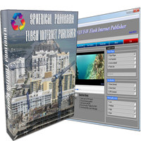 Spherical Panorama Flash Internet Publisher