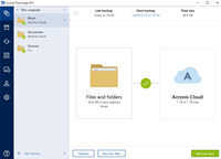 Acronis True Image for Mac screenshot medium