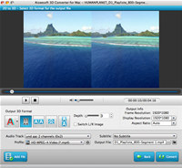 Aiseesoft 3D Converter for Mac screenshot medium