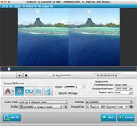 Aiseesoft 3D Converter for Mac screenshot medium