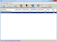 RoboMail Mass Mail Software screenshot medium