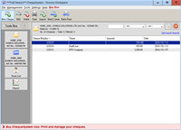 ChequeSystem Cheque Printing Software screenshot medium